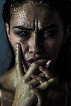"""Perpetual"" — Photographer: Haris Nukem Makeup: Polly Ellens Smith Model: Becca Ahern"
