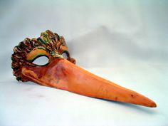 Stork Venetian Mask