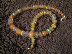 gorgeous genuine Ethiopian opal bracelet by las81101