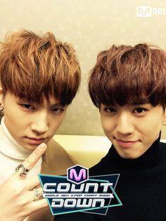 GOT7 JB and Yugyeom