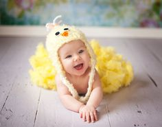 Chick Hat Knitting Pattern - 6 Sizes Included - PDF Sale - Instant Digital Download on Etsy, $3.50