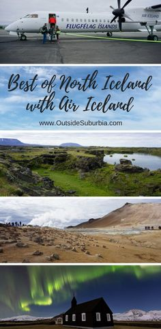 See how visiting beautiful areas like Lake Myvatn, Godafoss, Akureyri and other vistas in North Iceland is possible as a day tour from Reykjavik with Air Iceland!