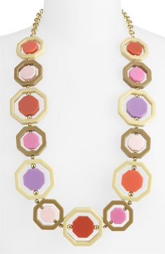 kate spade new york 'octagonal' long necklace