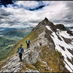 I loved hiking from Hut to Hut in Norway and a great way to meet new friends along the way.