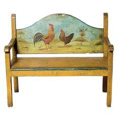 Handpainted Bench