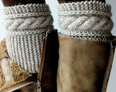 Boot CuffsBoot Cuffs WomensBoot Cuffs WoolBoot by DarlenesGiftShop
