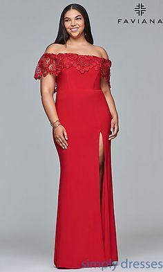 0c4730a3425 Plus-Size Formal Prom Dresses