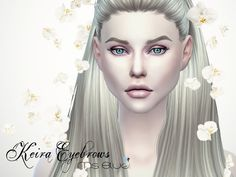Sims 4 CC's - The Best: Eyebrows by Ms Blue