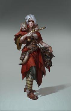 ArtStation - Red Riding Hood, cg_ sister