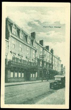 Halifax Hotel Halifax Nova Scotia Postcard | eBay