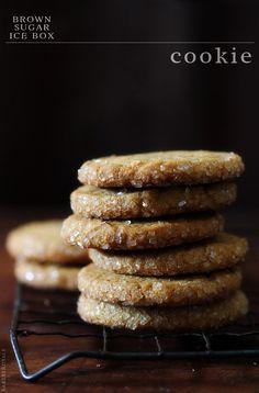 Brown Sugar Ice Box Cookies via Bakers Royale