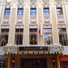 Sir Francis Drake Hotel... San Francisco, CA