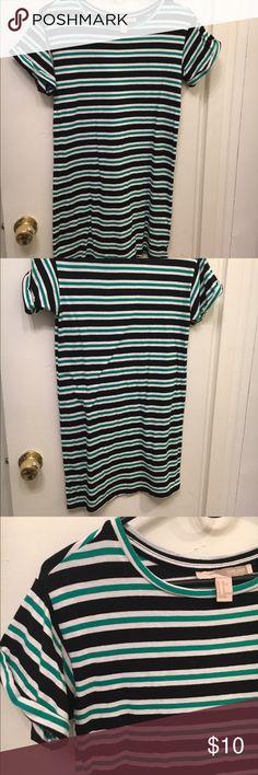 Striped dress Striped T-shirt dress Forever 21 Dresses Mini