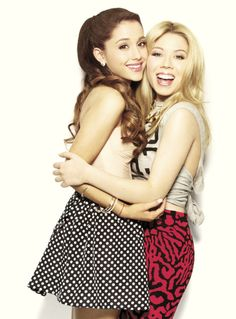 Aahw, Ariana and Jennette (Sam & Cat)
