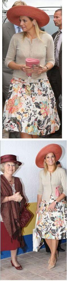 Koningin Beatrix en Prinses Maxima 6/11/2009