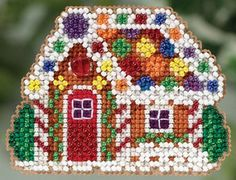 Mill Hill Winter Holiday Collection Gingerbread by DebiCreations