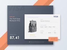 Resultado de imagem para payment ui design