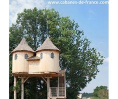 Le Domaine de Dienné - hébergements insolites en Poitou-Charente - Cabanes de France