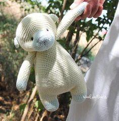 Your place to buy and sell all things handmade Crochet Bear, Cute Crochet, Bear Toy, Cute Bears, Handmade Toys, Baby Toys, Children, Kids, Dinosaur Stuffed Animal