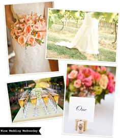 Happy Wine Wedding Wednesday! Another example of why we love the Vineyard Wedding so much! #WW #Wine