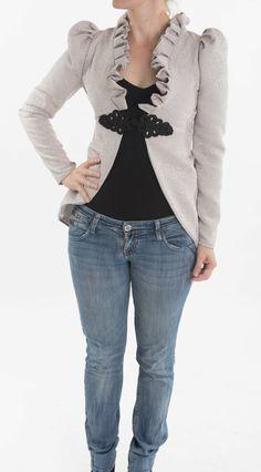 Hey, I found this really awesome Etsy listing at http://www.etsy.com/listing/167792588/women-elegant-jacket-white-ivory-jacket