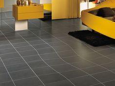 Laminated stoneware flooring 36E8 DRUNK by Lago design Daniele Lago