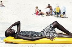 Ataui by Giulia Noni  client: french revue des modes  Giulia Noni - Photographer  Ataui Deng - Model