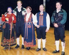 FolkCostume: Costume and Rosemaling Embroidery of West Telemark, Norway