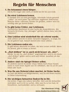 Rules for people.jpg Rules for people. Good To Know, Feel Good, German Language Learning, Learn German, Self Development, Better Life, Self Improvement, Positive Vibes, Inspire Me