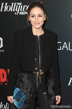 Olivia Palermo at the New York Premiere of 'Django Unchained' at the Ziegfeld Theatre in New York City, New York - December 11, 2012