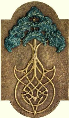 Druids Trees:  The Tree of Life and Celtic knotwork. I like the way they did this tree of life more then the usual way haha :)