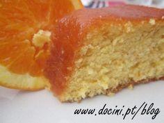 Receita Bolo de laranja com calda de laranja, de Docini - Petitchef