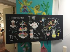 Kitchen decoration Made by Chalking Wolf
