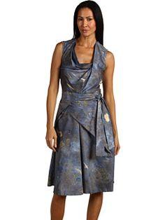 Vivienne Westwood, blue prosperity print dress  zappos couture   349673