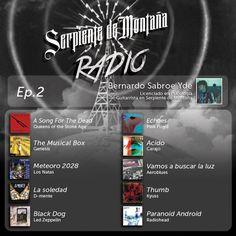 *Radio Serpiente Ep.2: Este capitulo está musicalizado por Bernardo Sabroe Yde, Psicólogo, guitarrista y cantante en Serpiente de Montaña  Escuchá la lista aca: https://www.youtube.com/playlist?list=PLQ3bbkrZPMGIfgdE5dPYvFffCxEi7W-UD — con Bernardo Sabroe Yde.  #RadioSerpiente #SerpientedeMontana #Montania #StonerRock #SludgeMetal