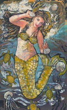 Home Janet Searfoss Batik paintings