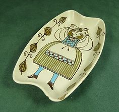 "FIGGJO FLINT (EARLY DESIGN ""Lotte""/""Market"" ?) SHAPED DISH_Turi Gramstad Oliver"