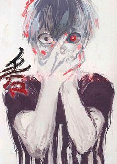 Kaneki | he looks like akutagawa here