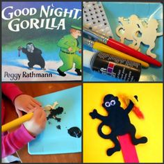 activities for Good night gorilla