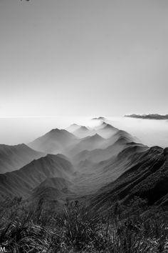 Mountains near Monterrey, Nuevo León, México.