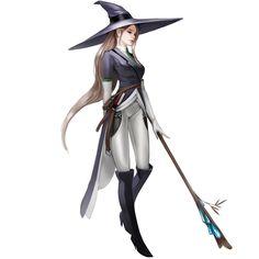 ArtStation - W, jong hyun jeon Character Design Cartoon, Character Bank, Fantasy Character Design, Character Concept, Character Inspiration, Dnd Characters, Fantasy Characters, Female Characters, Avatar