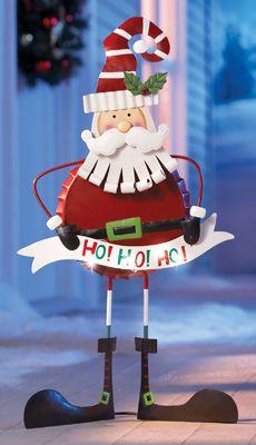 Bottle Cap Body Santa Claus Christmas Decoration