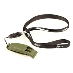 Outdoor Survival Whistle Safety Whistle Emergency Whistle With Strap Army Green * Check out the image by visiting the link.