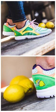 adidas Originals Racer Lite 'Lemon' sneakers