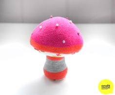Mushroom pin cushion tutorial