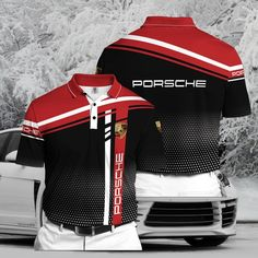 Categories - Clothing - Polo Shirt - Car - Horses Car - Page 1 - Macrolid Clothing Free T Shirt Design, Sports Jersey Design, Motorcycle Jacket, Polo Shirt, Swimming, Car, Clothing, Jackets, Shirts