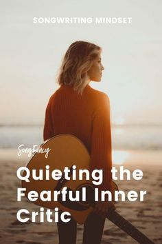 Quieting the Fearful Inner Critic - SongFancy Writing Lyrics, Bad Songs, Whisper In Your Ear, Song Challenge, Funny Movies, Critic, Music Industry, Guitar Lessons, Music Lovers