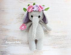 Amigurumi Elephant - FREE Pattern / Tutorial