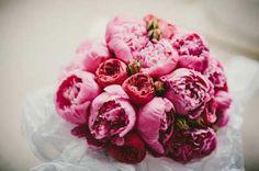 Pink peony bouquet - Ireland wedding - destination wedding - flower ideas