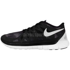 Nike Wmns Free Run 5.0 Print Black White Camo 2015 Womens Running Shoes Sneakers
